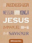 Pocket Names Of Jesus 2019 Scripture Diary