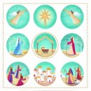 Tearfund Nativity Christmas Cards Pack of 10