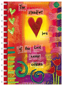 Steadfast Love A5 Notebook