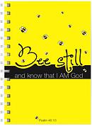 Bee Still A5 Notebook