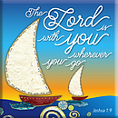 The Lord is With You Magnet