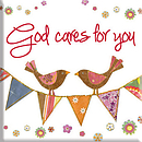 God Cares Magnet