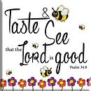 Taste & See Magnet