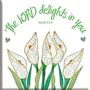 The Lord Delights in You Magnet
