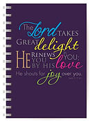 Shout for Joy Notebook