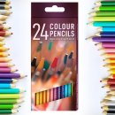 24 Colouring Pencils