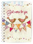 God Cares A5 Notebook
