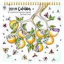 2019 Colouring Calendar