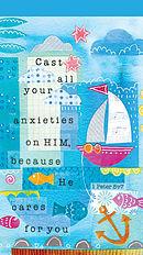 Cast Your Anxieties Jotter