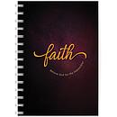 Faith A5 notebook