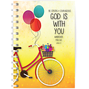 God is with you A5 notebook