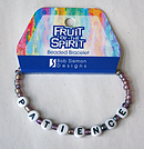 Patience Bracelet: Fruit Of The Spirit