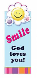 Smile God Loves You - Magnetic Bookmark