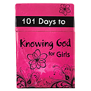 101 Days to Knowing God for Girls