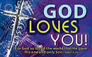 """God Loves You"" Pass-Around Cards"