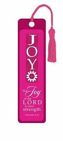 """""""Nehemiah 8:10"""" Tassle Bookmark"""