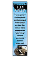 Teen Creed Bookmark - Pack of 10