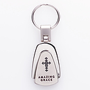 Amazing Grace - Engraved Keyring