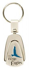 On Wings like Eagles - Engraved Keyring