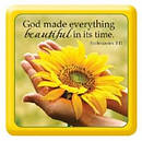 God Made Everything Beautiful - Epoxy Magnet
