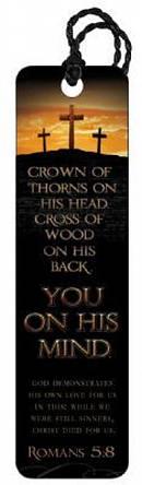 """Romans 5:8"" Tassle Bookmark"