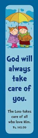 """""""Lord Takes Care"""" """"Blue"""" Pack of 10 Bookmarks"""