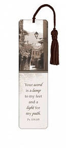 """Psalm 119:105"" Tassle Bookmark"