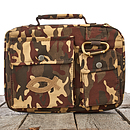 Fish Patch (Camouflage) Cotton Twill Bible Cover- Medium