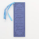 Jer 29:11 - Faux Leather Bookmark