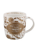 This Is The Day Floral Mug