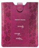 Tablet Case / eReader Sleeve Raspberry - Serenity Prayer