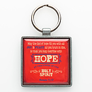 Hope Rom 15:13 Epoxy Keyring