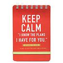 Keep Calm Notepad