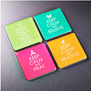 Keep Calm Magnet Set