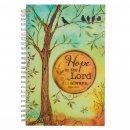 Notebook-Wirebound-Peaceful Thoughts/Hope In The Lord Always