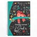 Notebook-Wirebound-Love Grows/God's Love