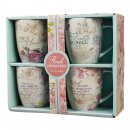 Floral Inspirations set of four Coffee Mug