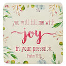 You Fill Me With Joy Decor Block