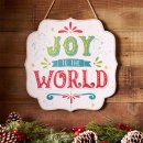 Wall Plaque-Joy To The World