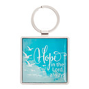 Hope in the Lord Metal Keyring