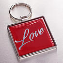 Keyring Metal Love