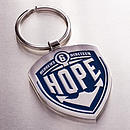 Hope - Hebrews 6:19 Metal Keyring