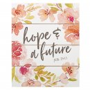 Wall Plaque-Hope and Future