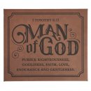 Wall Plaque-Man of God