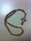 Light Wood Rosary
