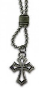 Necklace - Outline Cross