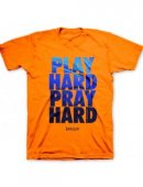 T-Shirt Play Hard Adult Small