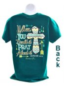 Cherished Girl Adult T-Shirt Pray About It Medium