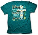 Cherished Girl Adult T-Shirt Pray About It Large