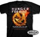 T-Shirt Hunger for God    MEDIUM